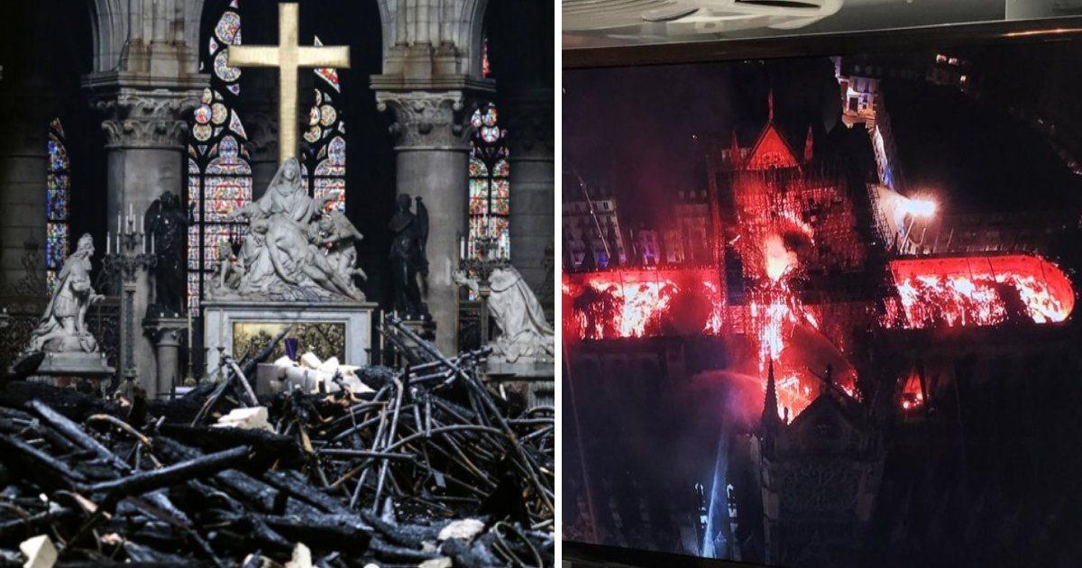 featured image 42.png?resize=412,232 - Photos Showing Damages Inside Notre Dame Cathedral Released