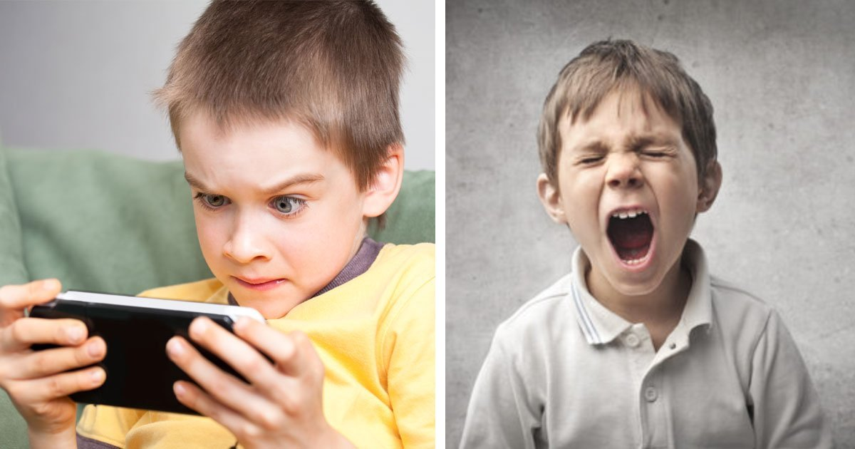 featured image 49.png?resize=1200,630 - New Study Revealed Two Hours' Screen Time A Day Can Make Children More Likely To 'Behave Badly Or Have ADHD'