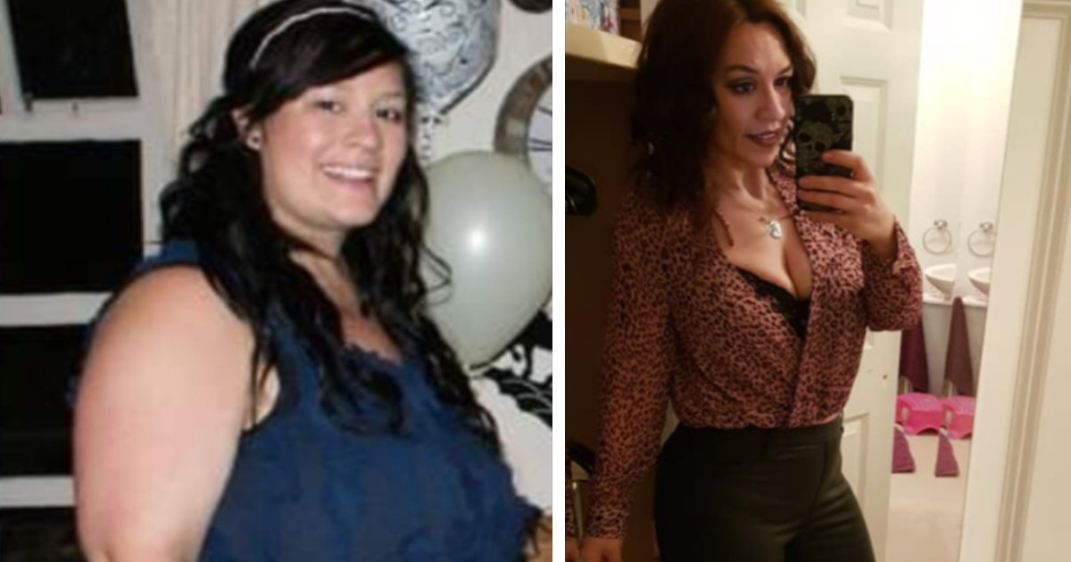 featured image 60.png?resize=1200,630 - Woman Lost A Whopping 140lbs After A Stranger Called Her Fat And Threw A Burger At Her