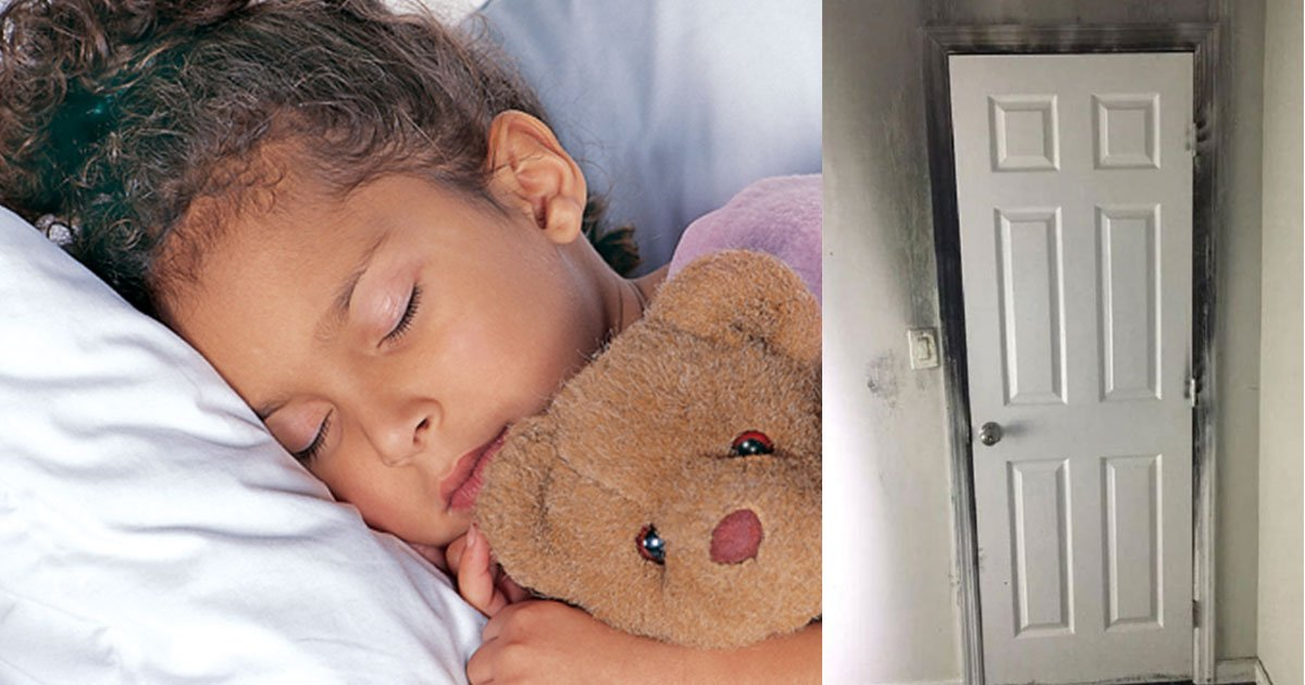 firefighter warned parents not to leave childrens room door open at night as they could risk their lives.jpg?resize=412,232 - Firefighter Warned Parents 'Do NOT Leave Your Child's Room Door Open At Night'