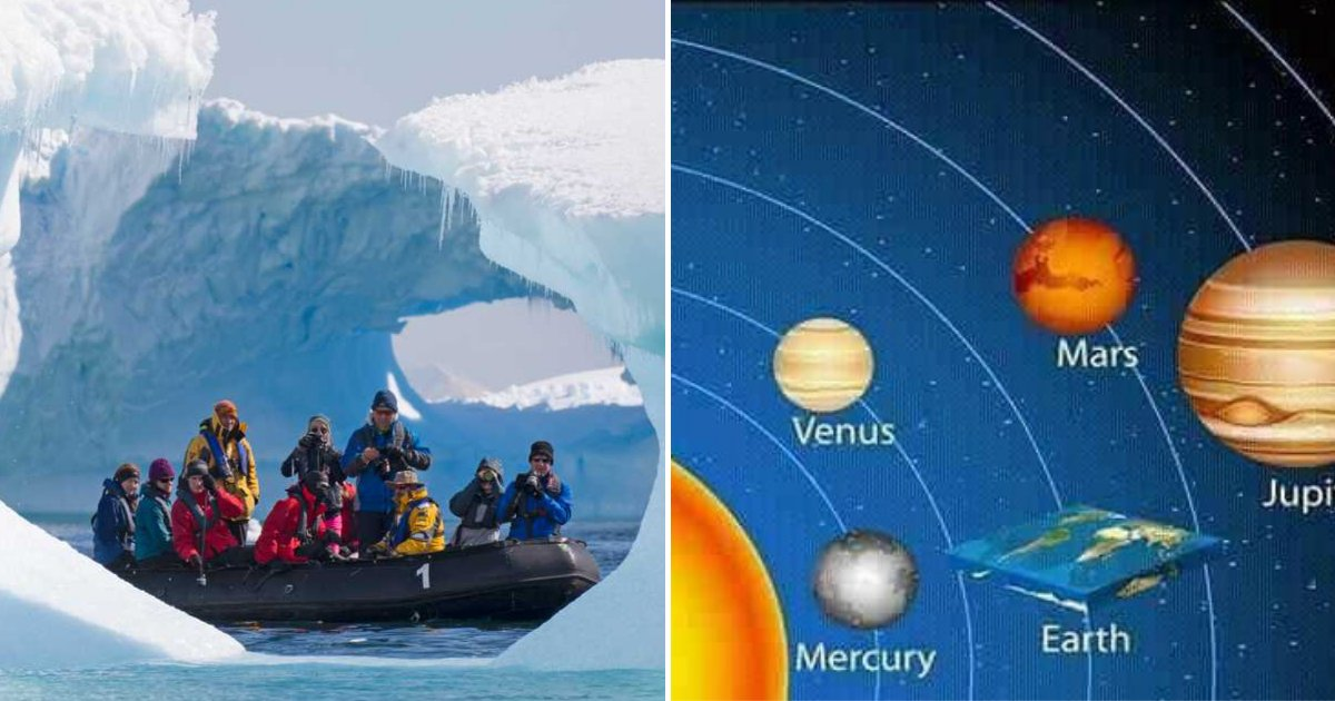 flat5.png?resize=1200,630 - Flat Earthers Set To Go To Antarctica To Prove The World Is Not Round