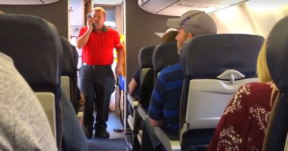 flight fallen soldier mother.jpg?resize=1200,630 - Southwest Airlines Flight Attendant Honored The Mother Of Fallen State Trooper By Singing 'You Raise Me Up'