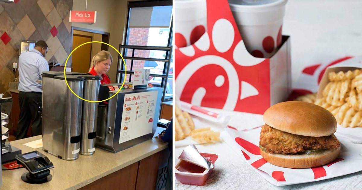 fsdfs.jpg?resize=412,232 - Secret Deed Of Kindness Done By A Chick-Fil-A Employee Who Paid For A Hungry Man's Meal From Her Own Pocket