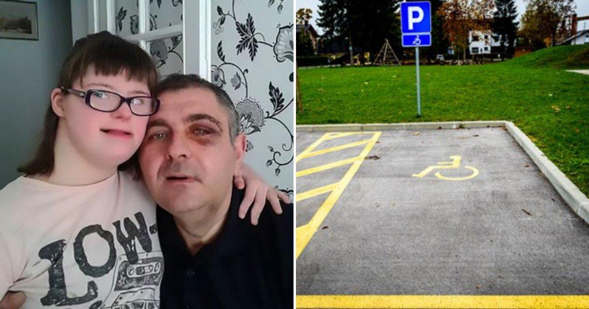 goran4.png?resize=412,232 - Un père qui défendait sa fille atteinte du syndrome de Down a été attaqué par des voyous sur une place de stationnement pour personnes handicapées