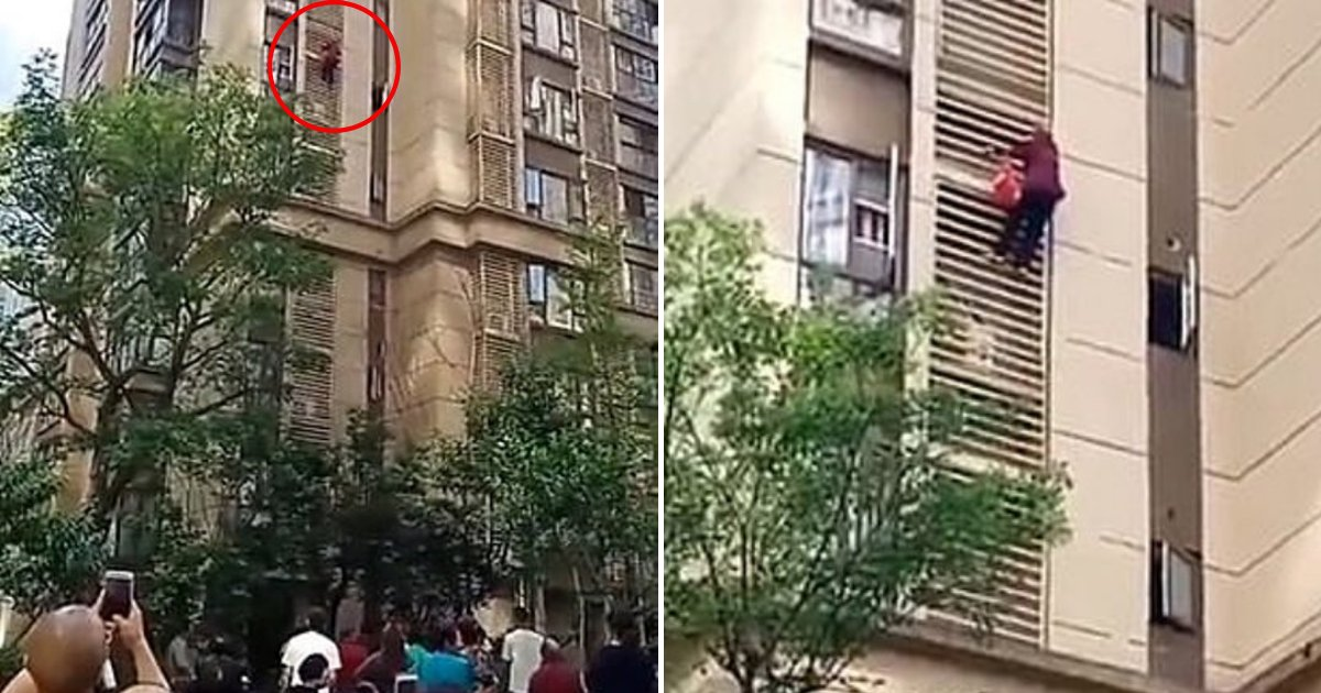 grandma4.png?resize=1200,630 - 90-Year-Old Grandma With Dementia Scaled Nine Floors Down The Building After Family Locked Her In Apartment
