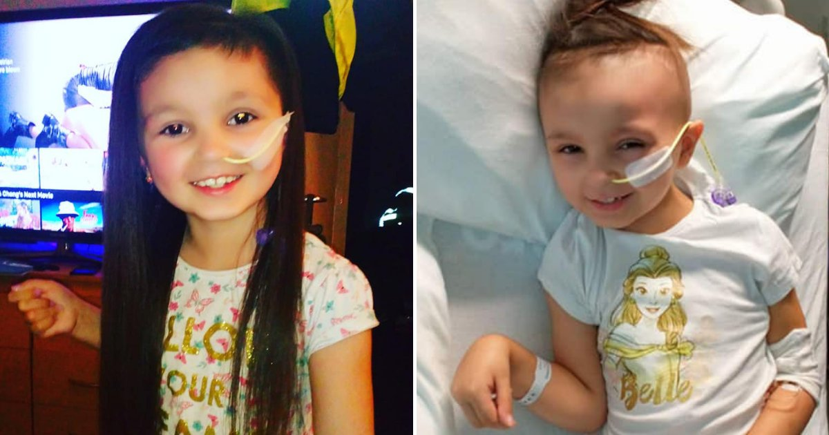 kiara6.png?resize=1200,630 - Family Of 7-Year-Old Girl With Brain Tumor Received Heartless Messages