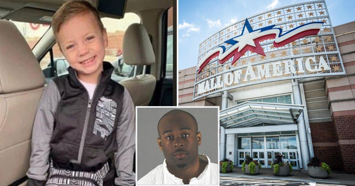 landen.png?resize=412,232 - Les gens font un don de plus de 290 000 euros à une famille d'un garçon de 5 ans blessé dans un centre commercial américain