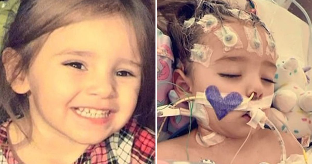 layla5.png?resize=1200,630 - 2-Year-Old Girl In Coma Has 50-50 Chance Of Survival After She Contracted Flu
