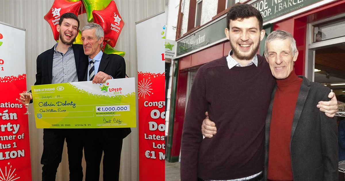 lotto winner forgot to bring his ticket after being picked up by limo to collect his prize.jpg?resize=1200,630 - Lotto Winner Forgot To Bring His Ticket After Being Picked Up By Limo To Collect His Prize