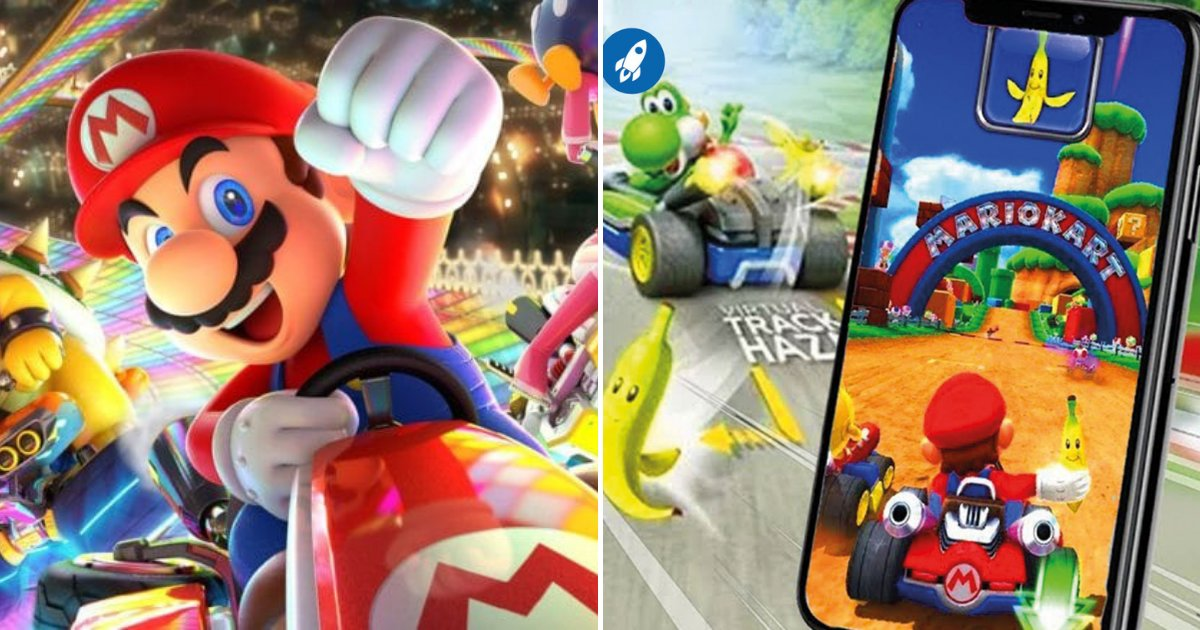 mario5.png?resize=1200,630 - Mario Kart Is Coming To Smartphones Very Soon And Will Challenge Most Popular Games, Such As Candy Crash