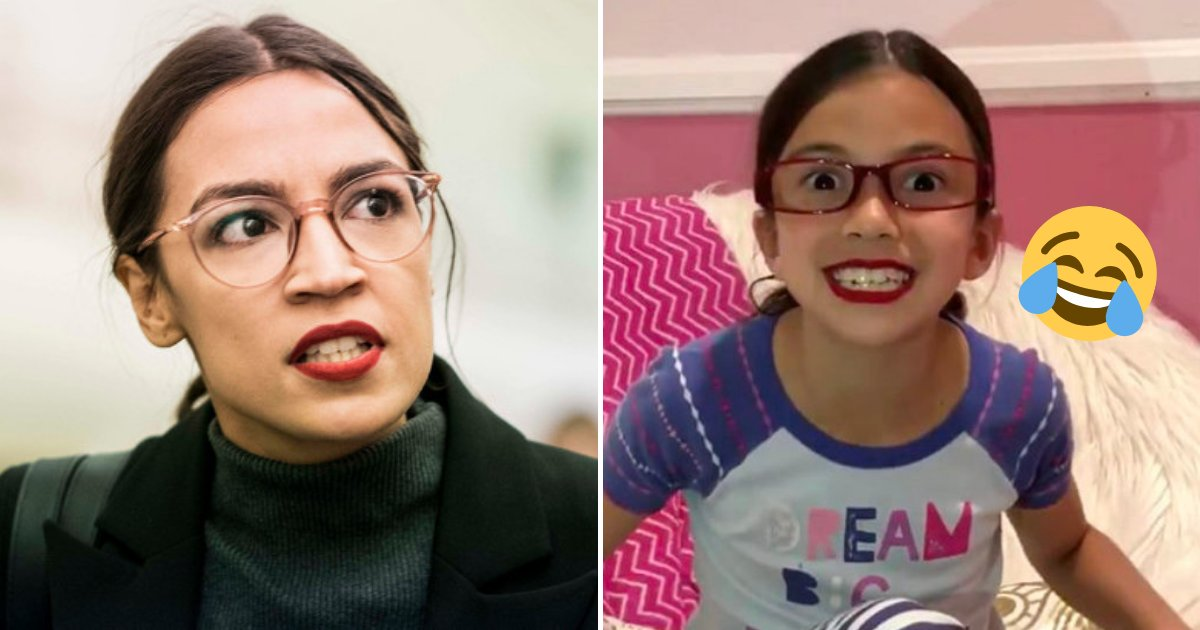 martinez3.png?resize=1200,630 - 8-Year-Old Girl Impersonating Socialist Rep. Ocasio Cortez Hilariously Mocked Her On Social Media