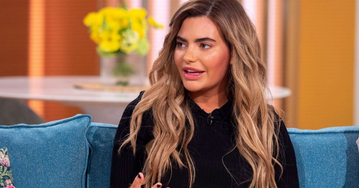 megan barton hanson revealed she could barely open her eyes following an allergic reaction to hair dye 1.jpg?resize=412,232 - Megan Barton-Hanson Revealed She Couldn't See Due To Severe Swelling Caused By An Allergic Reaction To Hair Dye