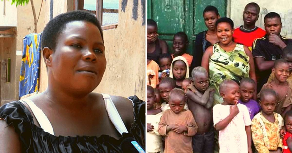 mother7.png?resize=412,275 - 39-Year-Old Mother Gave Birth To 44 Children After Marrying At The Age Of 12