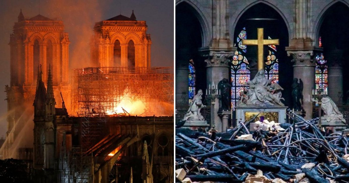 notredame6.png?resize=1200,630 - Notre Dame Fire: 'France Is Crying And The Whole World, Too'