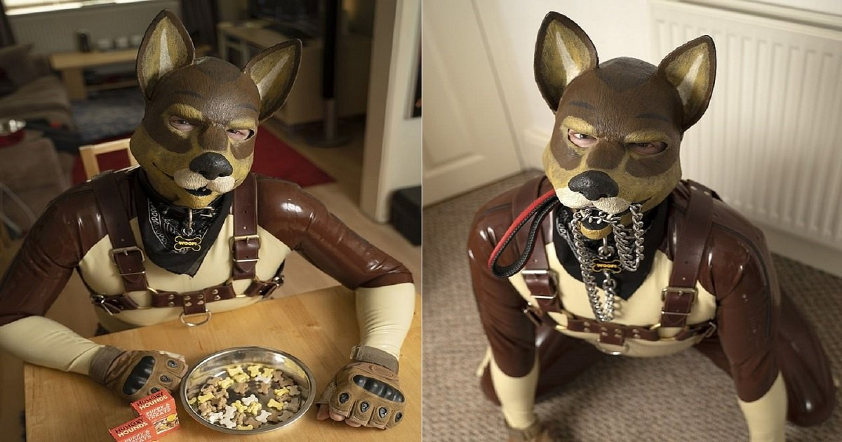 p5.jpg?resize=1200,630 - Man Wears A Dog Suit And Lives As A 'Human Pup' Because He's 'Never Felt Like A Human'
