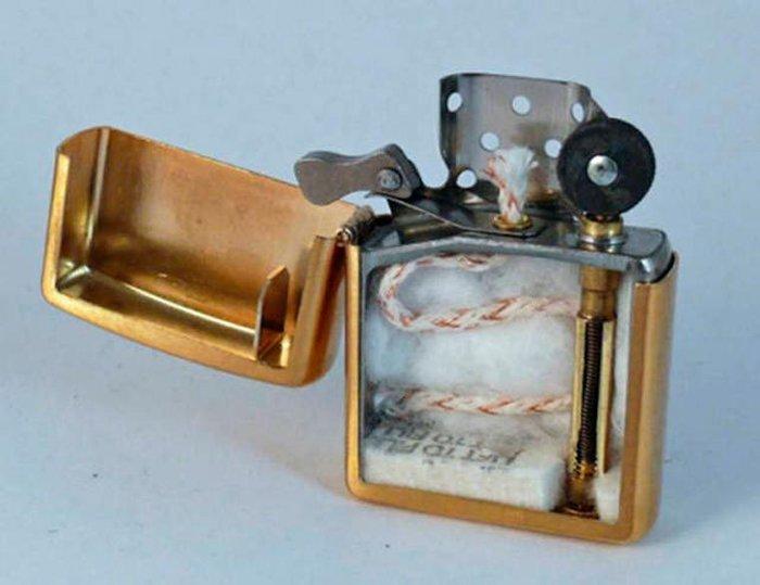 Old style Zippo lighter