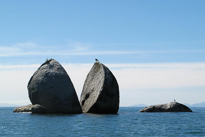 Rock in New Zealand