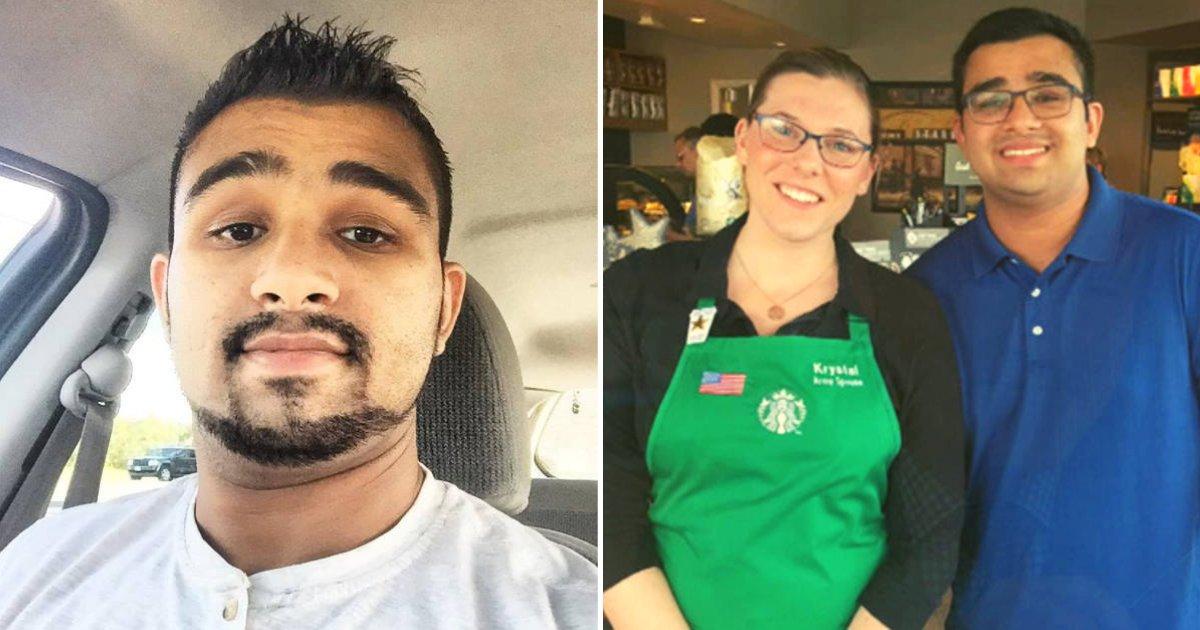 piracha4.png?resize=412,232 - Un homme sourd est surpris quand une employée de Starbucks lui tend un mot avant de prendre sa commande