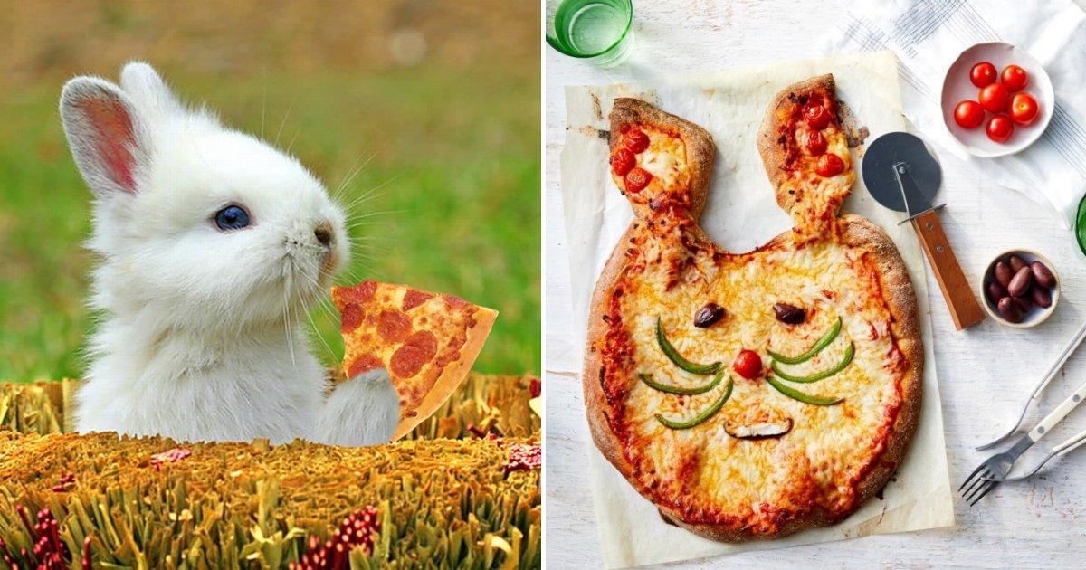 pizza2.png?resize=412,232 - Entrez dans le printemps en cuisinant une pizza en lapin délicieuse pour toute la famille