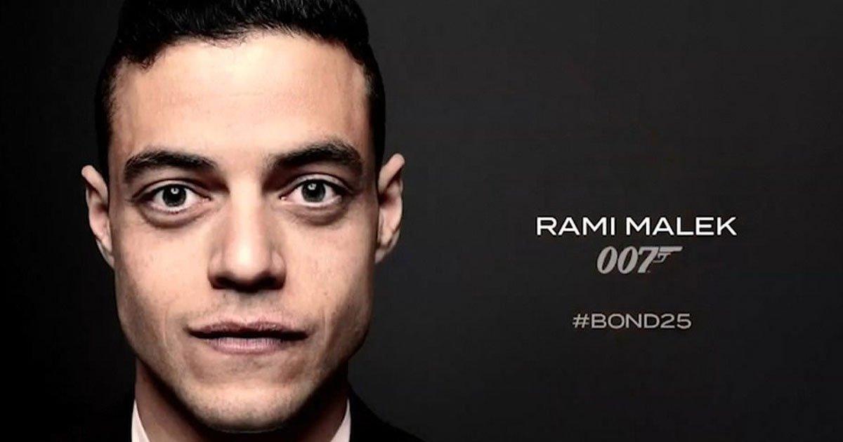 rami malek bin 25.jpg?resize=1200,630 - Rami Malek Confirmed As The Bond Villain - Says 'I Will Make Sure Mr. Bond Doesn't Have An Easy Ride On This'