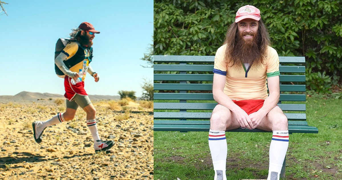 real life forrest gump finished the worlds hardest marathon.jpg?resize=412,232 - Real-life Forrest Gump Finished The 'World's Hardest Marathon'