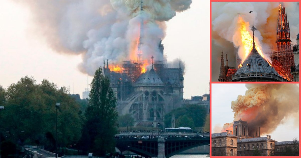 s1 10.png?resize=1200,630 - Priest Says Most Artifacts and Artwork Has Been Saved In The Historic Building, Notre Dame