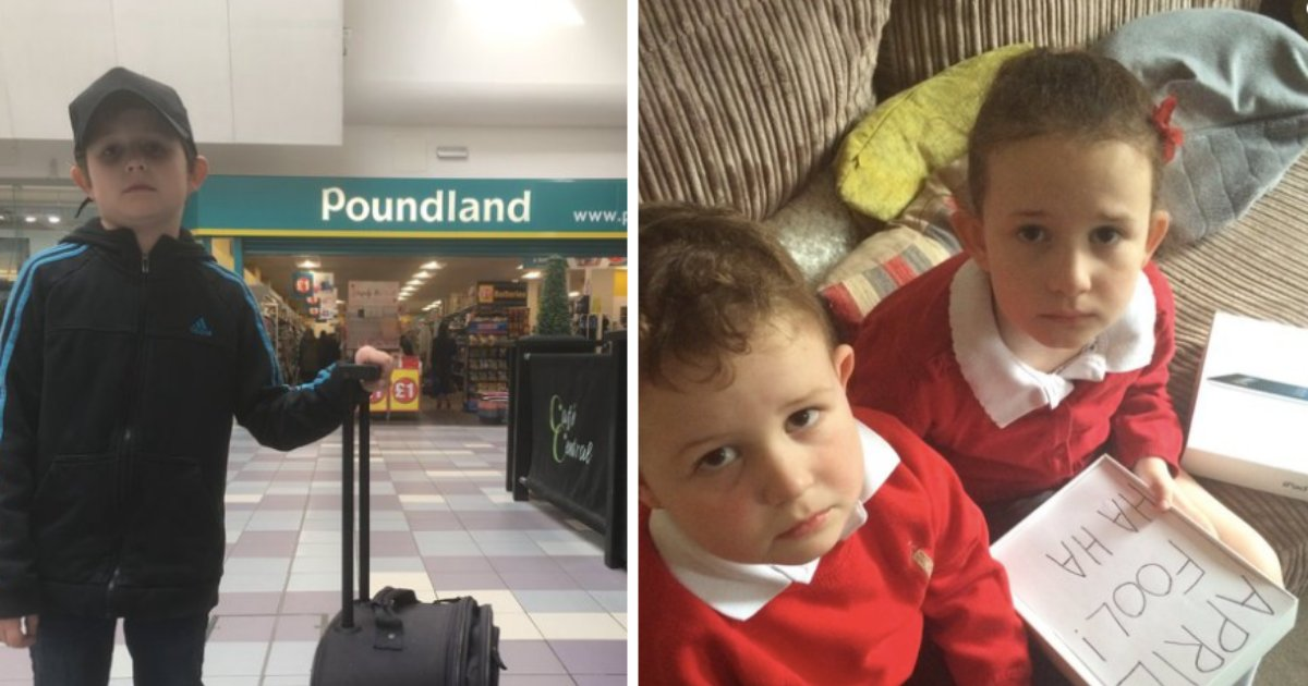 s1 2.png?resize=1200,630 - A Comedian Dad Took His Son to Poundland Instead of Disneyland In April Fool's Prank