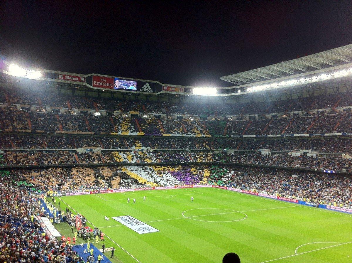 santiago bernabeu.jpeg?resize=412,232 - Real Madrid : Luca Zidane titularisé par son père lors d'une rencontre en championnat