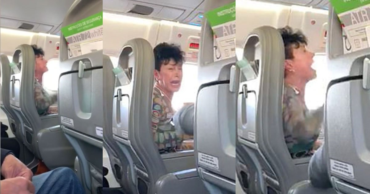 spanish woman was arrested and has been branded the worst airline passenger ever after her aggressive behaviour on a flight.jpg?resize=1200,630 - Spanish Passenger Threw A Fit During A Flight When The Crew Told Her 'They Had No Pepsi'