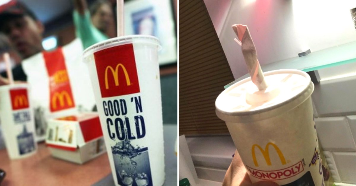 straws.png?resize=412,232 - McDonald's Customers Complain New Paper Straws Dissolve In Milkshakes, 30K People Signed Petition To Bring Plastic Back