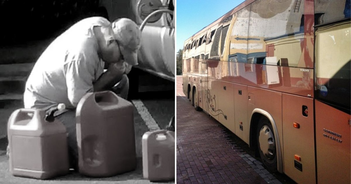 thieves.png?resize=412,232 - Gas Thieves Gets Stinky Punishment After Accidentally Siphoning Bus Sewage Tank