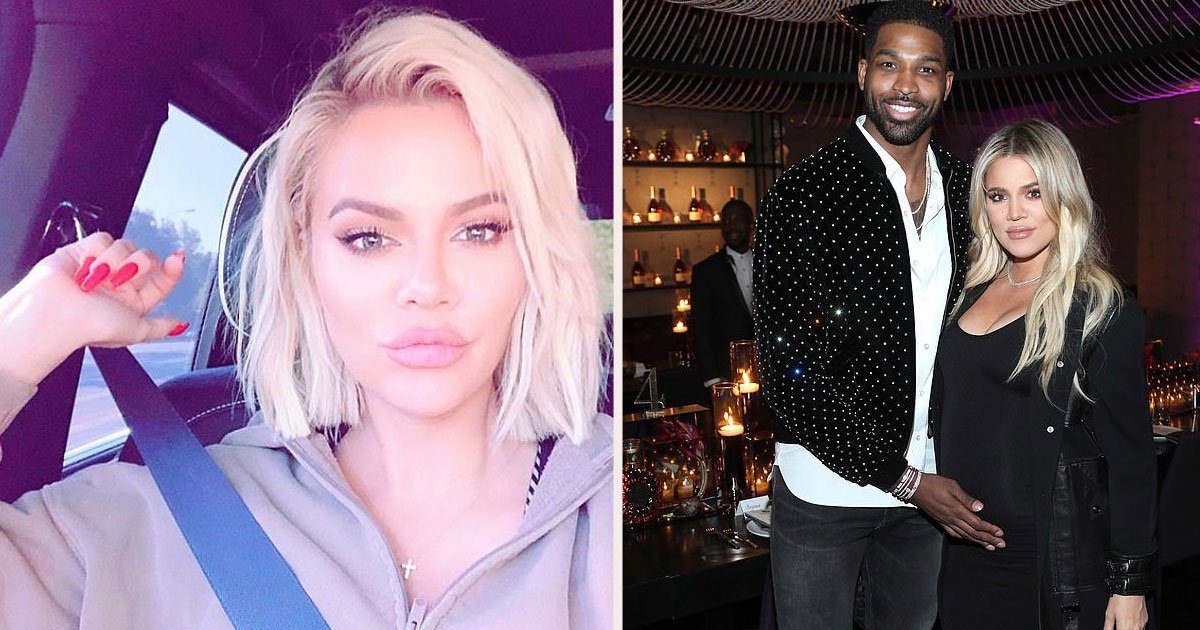 uhtr76.jpg?resize=412,232 - Khloe Kardashian Showed Off Her Huge Lips In A Selfie And Fans Beg Her To 'Stop The Injections'