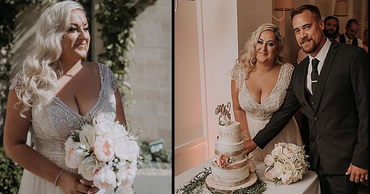 untitled 1 14.jpg?resize=412,232 - A Bride Saved $10,000 On Her Wedding By Using Flowers From Kmart And A Homemade Cake