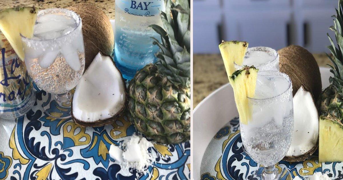 untitled 1 16.jpg?resize=412,232 - Comment faire une Piña Colada facile et légère pour vos soirées d'été?