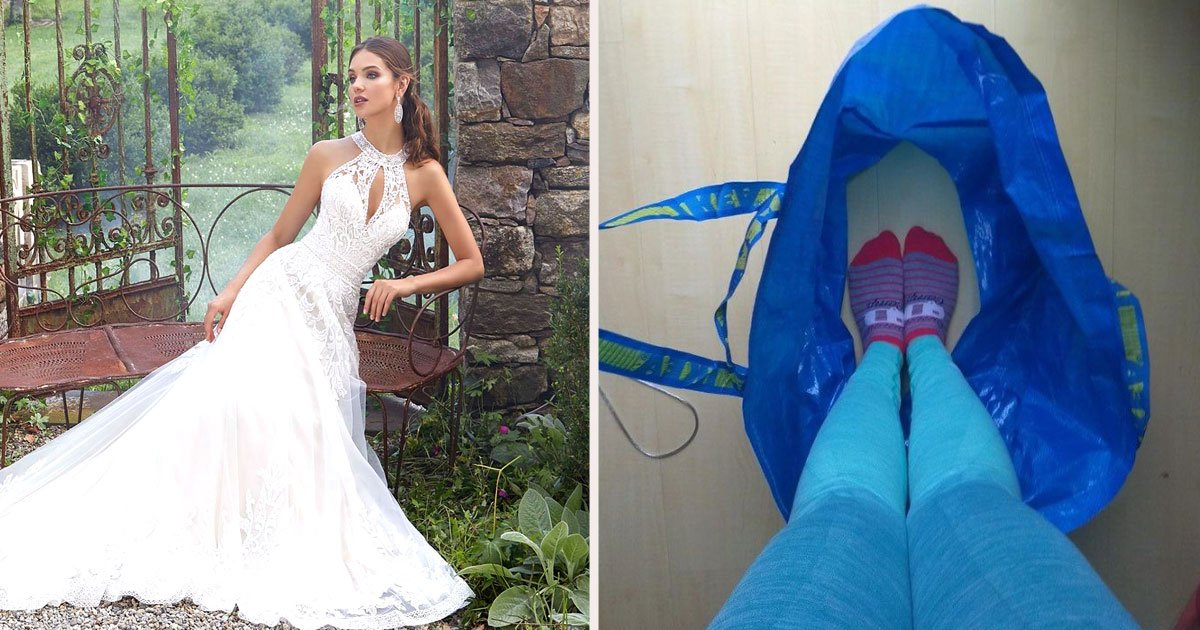 untitled 1 34.jpg?resize=412,232 - Bride Invented IKEA Bag Hack To Pee Worry Free On Her Wedding Day