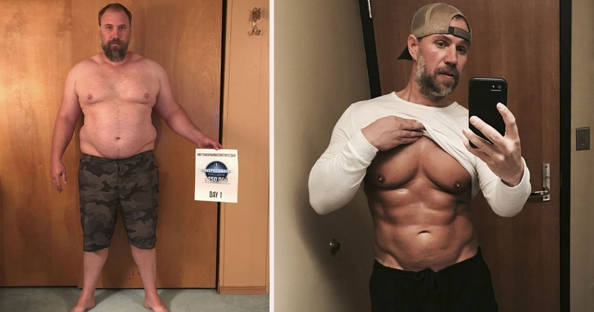 untitled 1 45.jpg?resize=1200,630 - Dad Lost 92 Pounds To Keep Up With His Kids And The Results Are Absolutely Amazing