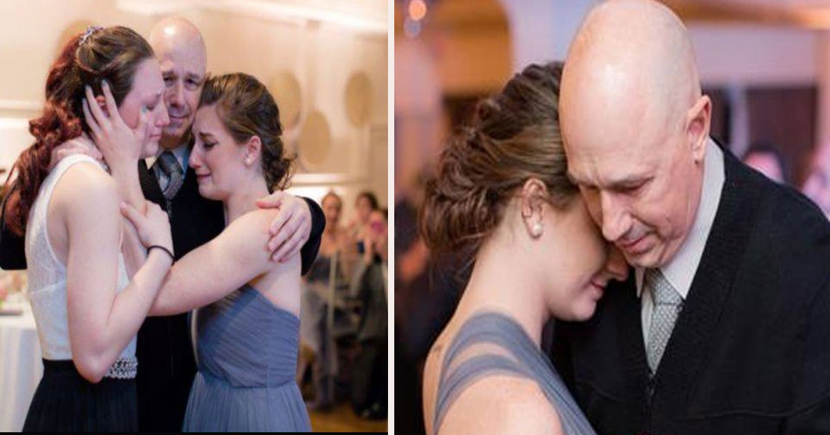 untitled 1 6.jpg?resize=1200,630 - Bride-To-Be And Terminally Ill Dad Took Father Daughter Dance Photos While He Can Still Walk