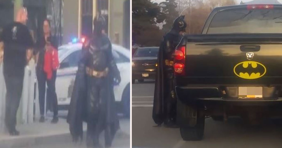 untitled 1.jpg?resize=412,232 - Man Dressed As Batman Turned Away By Cops When He Offered Them Help