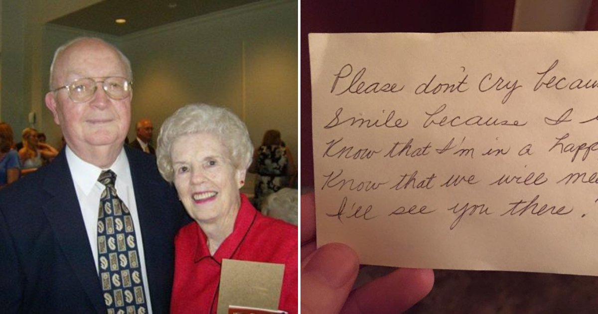 untitled design 100.png?resize=1200,630 - Man Discovers Heartbreaking Note Left Behind By His Late Wife Of 60 Years