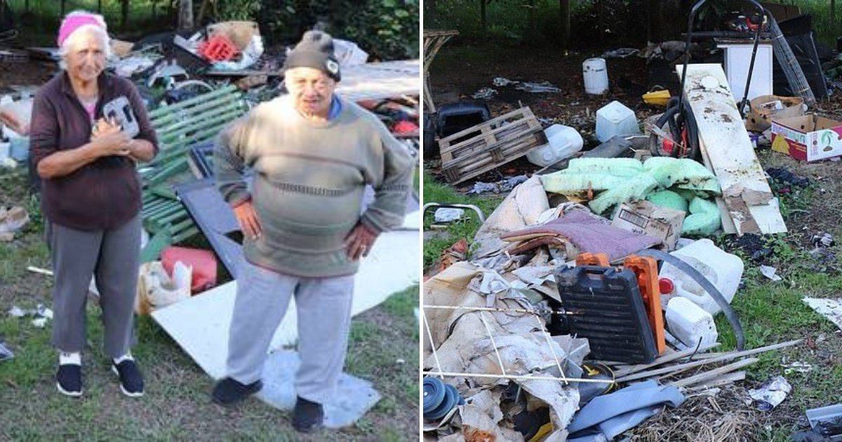 untitled design 29.png?resize=1200,630 - Elderly Couple Left Devastated After Careless Tenants Turned Their Backyard Into Dumping Ground