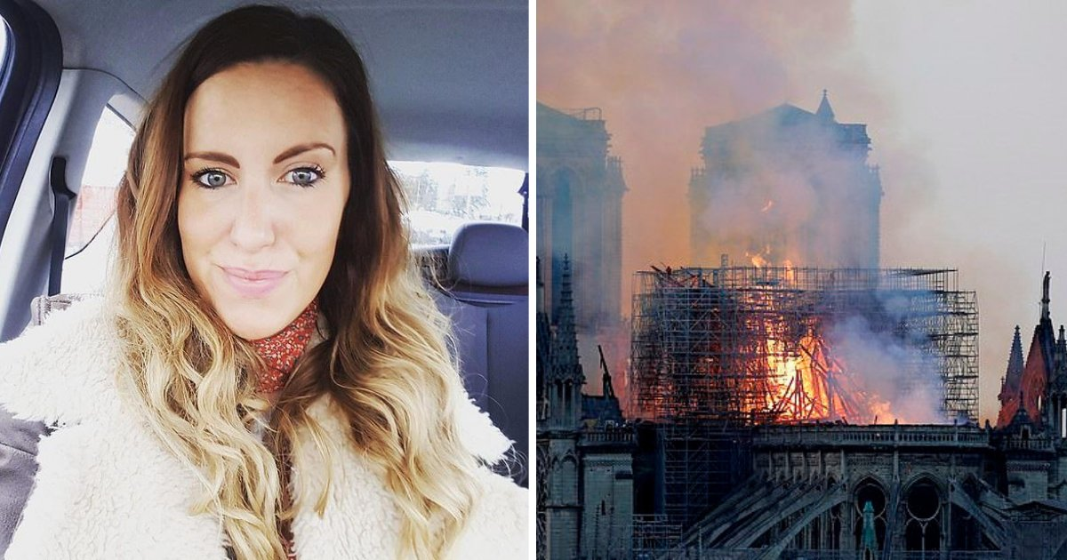 untitled design 31.png?resize=412,232 - Woman Claims She Sees Jesus In A Picture Of The Flames That Engulfed Notre Dame