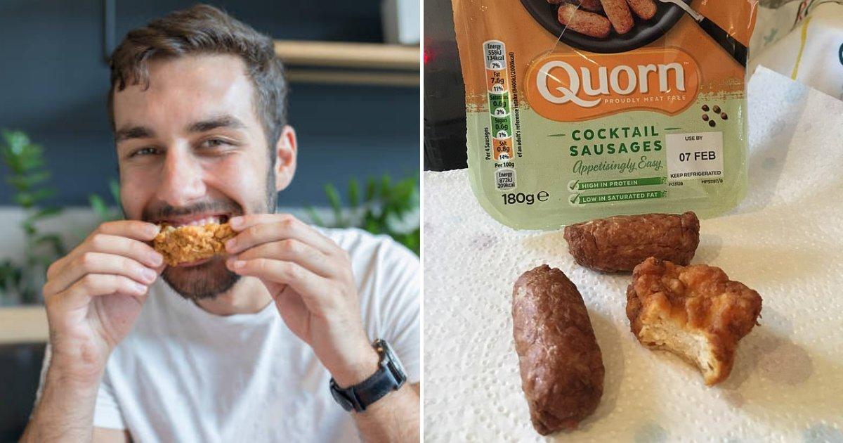 untitled design 48.png?resize=412,232 - Un végétarien accuse un employé d'usine d'avoir mélangé un bout de poulet dans le paquet de viande végétale.