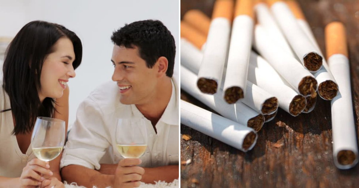 untitled design 49.png?resize=1200,630 - New Study Claims That Drinking Wine Could Be Just As Bad As Smoking
