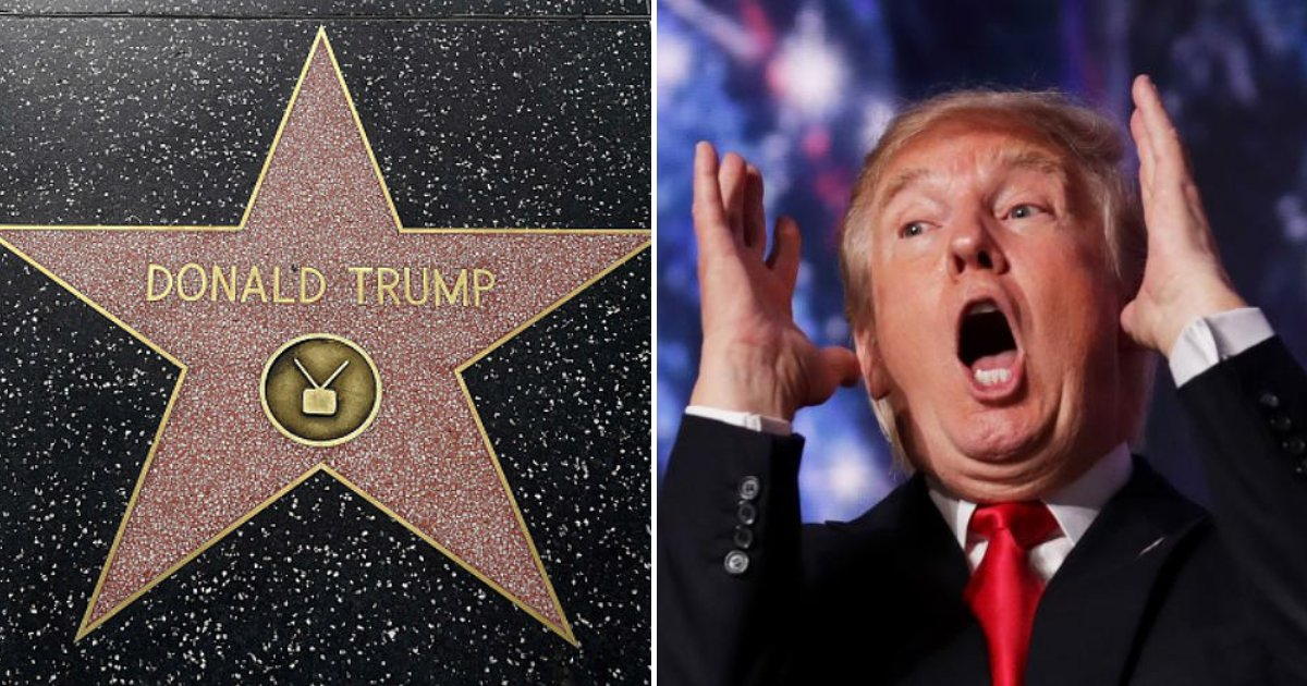 untitled design 80 1.png?resize=1200,630 - Caught On Camera: Trump's Hollywood Star Vandalized Once Again