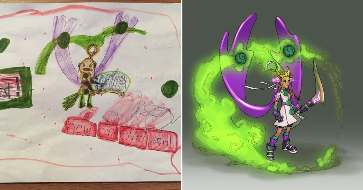 untitled design 95.png?resize=1200,630 - Artist Slammed Company For Recognizing Girl's Fan Art And Ignoring 'Real Artists'