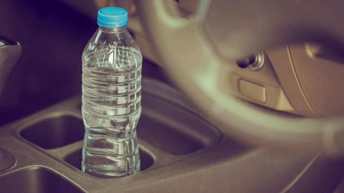 Image result for Firefighters Are Warning To Never Leave Bottled Water in Your Car