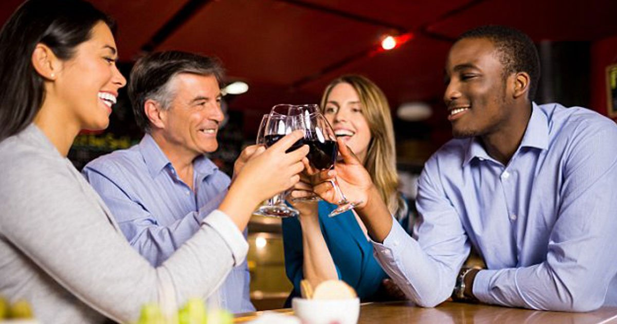 wine mental health.jpg?resize=1200,630 - New Study Finds People Who Drink A Glass Of Wine A Day Are Less Likely To Be Depressed