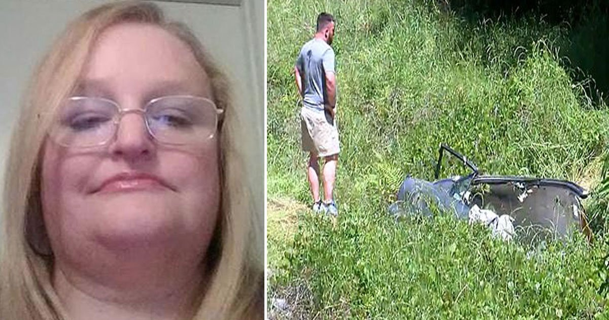 woman missing found.jpg?resize=412,232 - Alabama Woman - Who Was Found In A Wrecked Car - Survived Without Food And Water For Five Days