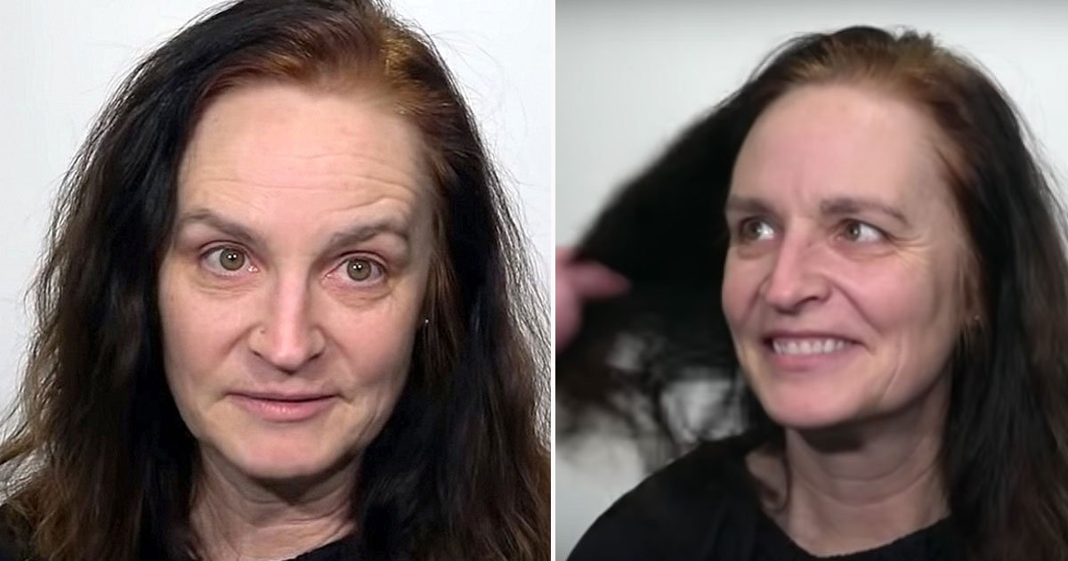 womans transformation.jpg?resize=1200,630 - Woman Over 40 Got A Stunning Makeover As She Was Tired Of Looking Frumpy And Old