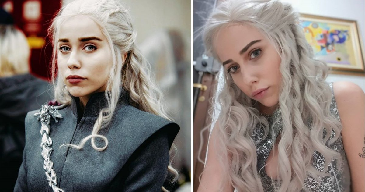 y2 18.png?resize=1200,630 - The Real Khaleesi Has A Perfect Lookalike And You will Be Surprised to See Her